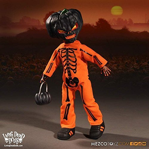 Hot Living Dead Dolls Halloween Jack O Lantern Mezco Toys 10 Action Figure Toys