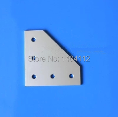 5 Hole 90 Degree Joining Plate for Aluminum Profile 2020